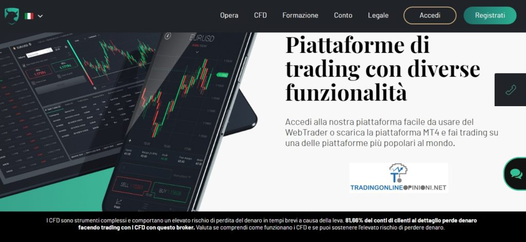 sito web ufficiale di Investous