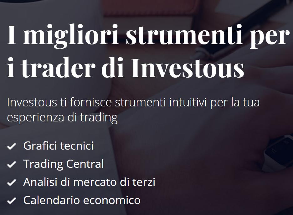strumenti trading di investous