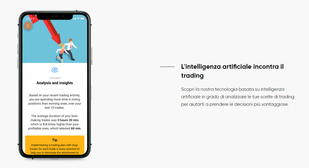 intelligenza artificiale di capital.com